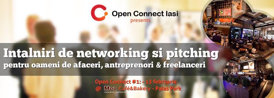 OpenConnect Iasi #1 – Eveniment de Networking