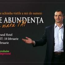 """Workshop """"Atrage Abundenta in viata ta"""", 22 februarie"""