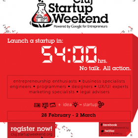 evenimentebiz, partener media Startup Weekend Cluj 2014