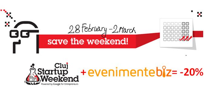 Startup Weekend Cluj evenimentebiz