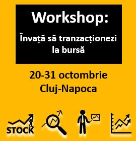 Workshop: Învață să tranzacționezi la bursă!
