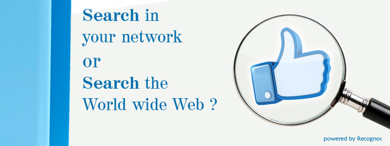 Search in your network or Search the World Wide Web?