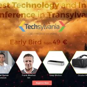 Peste 600 de participanti la cea de-a doua editie internationala a Techsylvania
