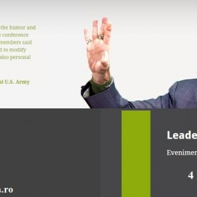 LEADERSHIP TRANSFORMATIONAL – INFLUENTEAZA, MOTIVEAZA SI TRANSFORMA ORGANIZATIA
