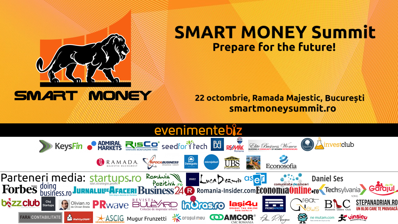 Banner parteneri SMART MONEY Summit