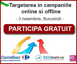 "Conferinta ""Targetarea in campaniile online si offline"" – 3 noiembrie 2015"