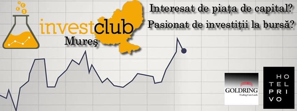 Lansare Invest Club Targu Mures