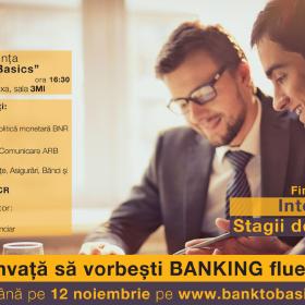 INVATA SA VORBESTI BANKING FLUENT!