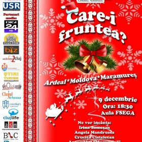 """Organizația Studenților pentru Turismul Românesc vă așteaptă să luați parte la cea de-a IX-a ediție a spectacolului caritabil """"Care-i fruntea?"""""""