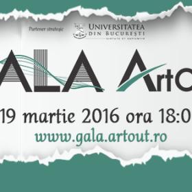 Gala Art Out 2016 – celebrarea a cinci ani de excelență în cultură