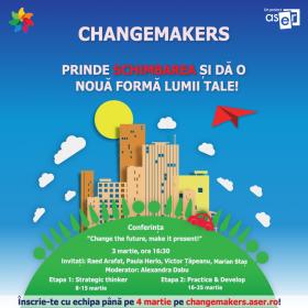 Changemakers dă start schimbării