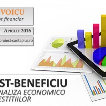 Curs la mare 2016: Analiza Cost-Beneficiu a investitiilor