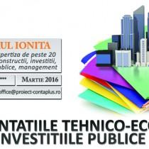 Curs la mare: Documentatiile Tehnico-Economice privind Investitiile Publice
