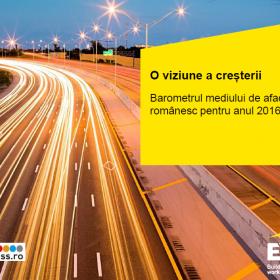 În România anului 2016, companiile au chef și potențial de afaceri