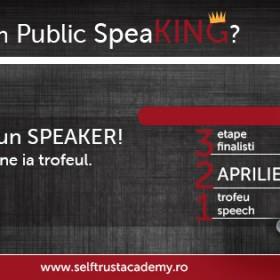 """Decide câştigătorul unui show unic în România: """"Who`s King în Public SpeaKING?""""!"""