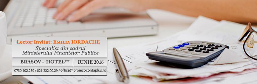 Curs Fiscalitate. Modificari ale Codului Fiscal aplicabile din 2016