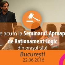 Seminar Aproape Gratuit de Rationament Logic pentru Admiterea la INM Bucuresti