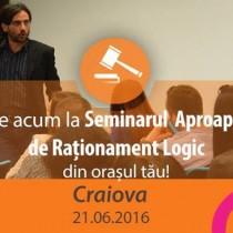 Seminar Aproape Gratuit de Rationament Logic pentru Admiterea la INM Craiova