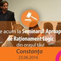 Seminar Aproape Gratuit de Rationament Logic pentru Admiterea la INM in Constanta