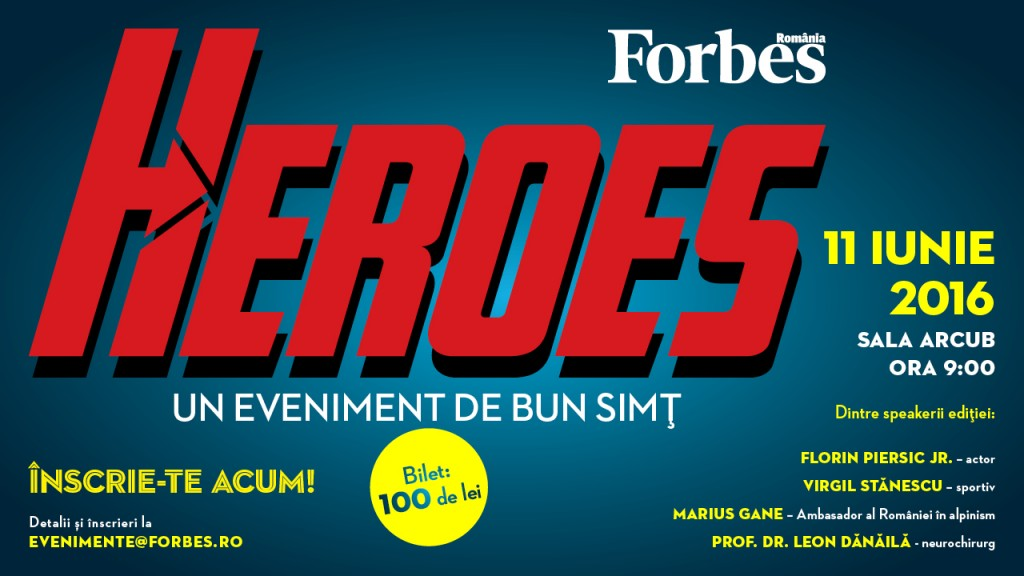 Forbes Heroes 2016