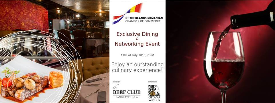 NRCC Exclusive Dining & Networking Event, 13th of July