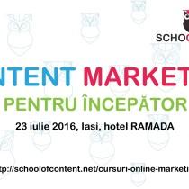 Curs Content Marketing pentru începători