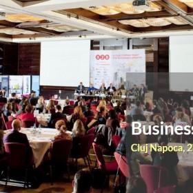 Cel mai important eveniment de afaceri al anului din Cluj-Napoca are loc marți, 27 septembrie 2016 – conferința națională BUSINESS to more BUSINESS