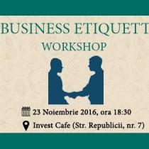 Workshop – Business Etiquette