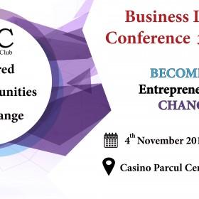Business Ladies Club organizează cea de-a III-a ediție a conferinței Business Ladies Conference, destinată exclusiv doamnelor și domnișoarelor