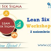 CODECS va invita la Workshopul Gratuit Lean Six Sigma Methodology!