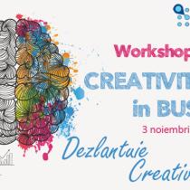 CODECS va invita la Workshopul Gratuit Creativitatea in Business!