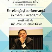 Excelență și performanță în mediul academic