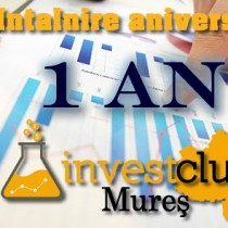 Intalnire aniversara 1 an de Invest Club Mures