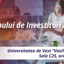 Lansarea Clubului Investitorilor din Arad
