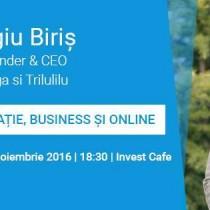 Serile JCI cu Sergiu Biris – Inovatie, Business si Online