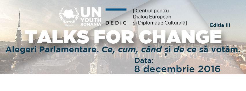 Talks for Change Ediția a III-a