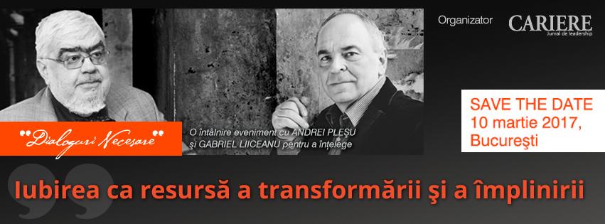 Dialoguri Necesare cu Andrei Pleşu şi Gabriel Liiceanu
