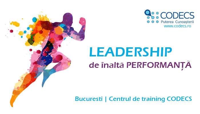 Leadership de inalta performanta | Training intensiv | 27-28 ianuarie 2018
