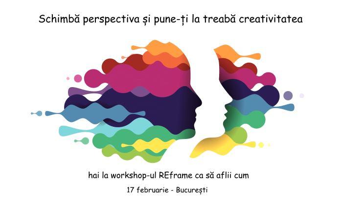 Schimbă perspectiva și pune-ți la treabă creativitatea