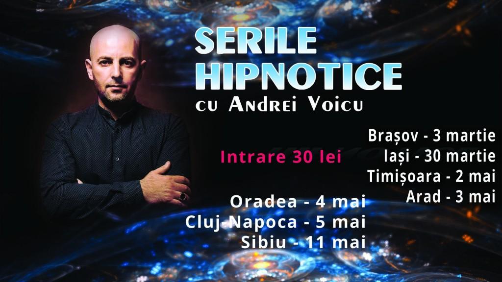 Seri Hipnotice cu Andrei Voicu la Brasov