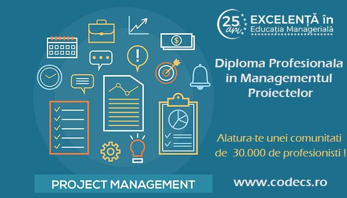 Diploma Profesionala in Managementul Proiectelor | CODECS