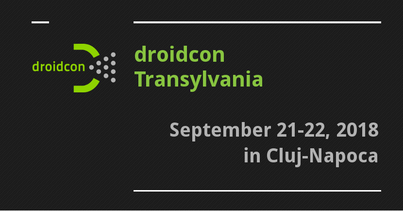droidcon Transylvania 2018